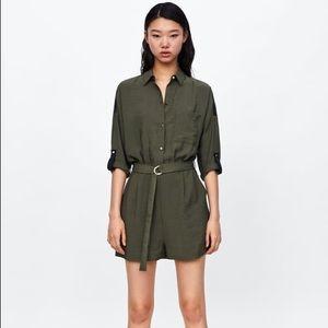 NWOT Zara Flowly Jumpsuit
